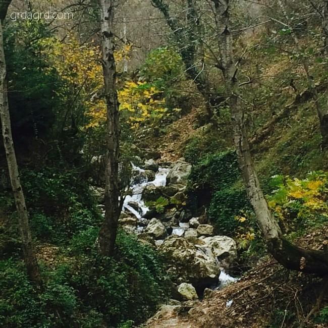 آبشار زیبای رامینه ماسال استان گیلان