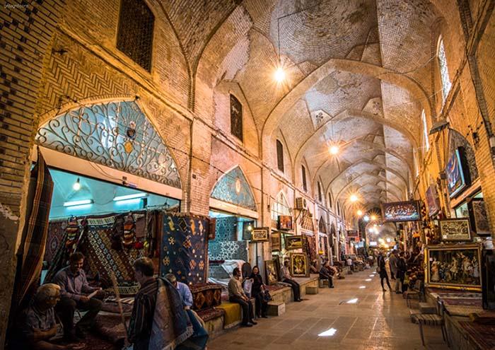 بازار تاریخی وکیل شیراز