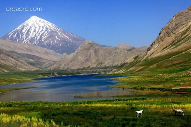 دریاچه دوخواهران در آمل، بهشتی در دل کوه