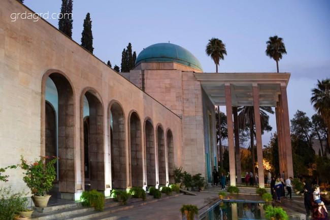 آرامگاه سعدی معروف به سعدیه