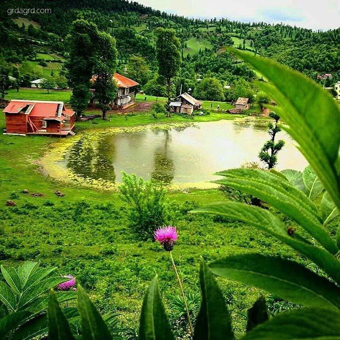 روستای استخرگاه بهشت گمشده رودبار