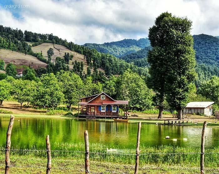 روستای زیبا استخرگاه بخش رحمت آباد و بلوکات، رودبار گیلان